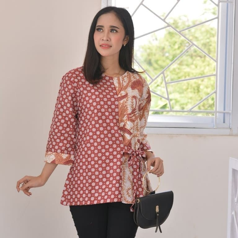 Model Tunik Batik Formal