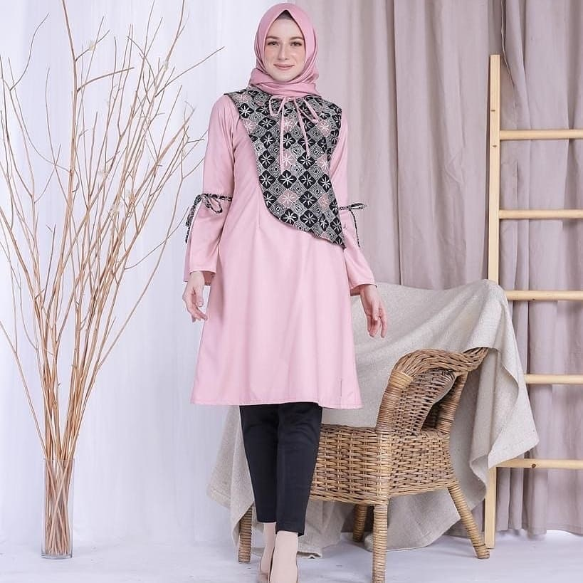 Model Tunik Batik Remaja