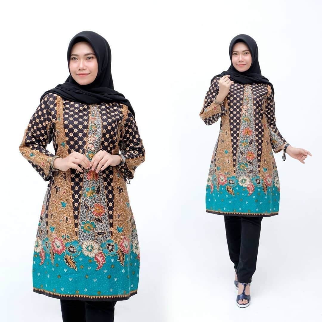 Model Tunik Batik Terbaru
