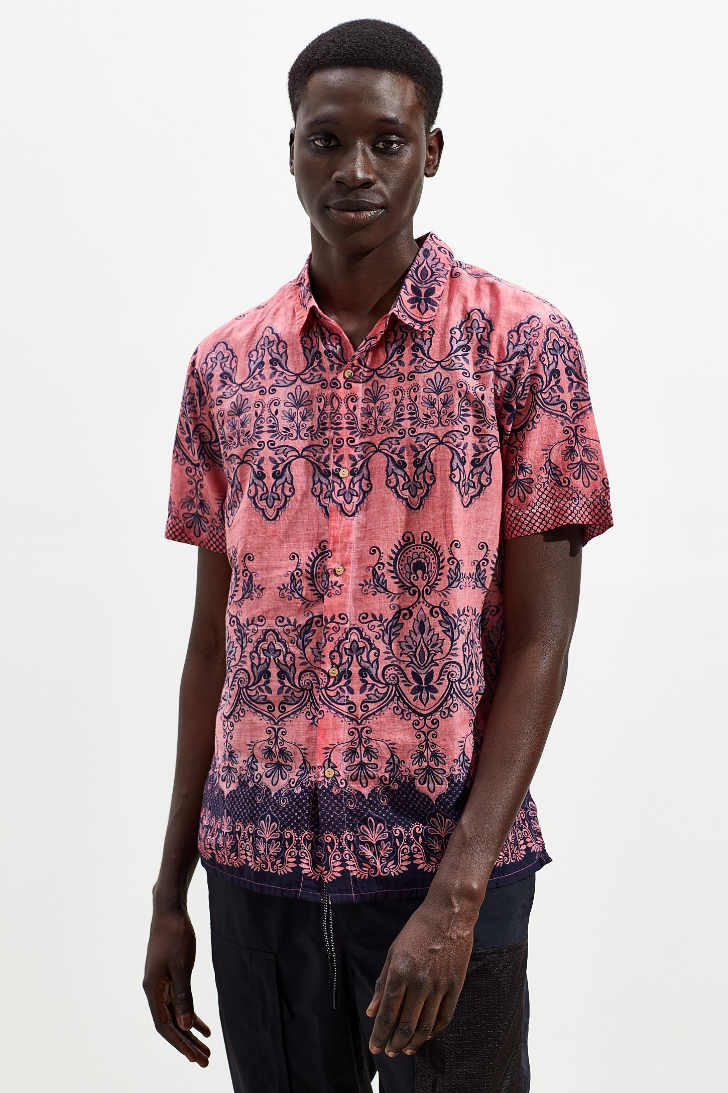 Model baju batik Untuk Pria Kulit Hitam