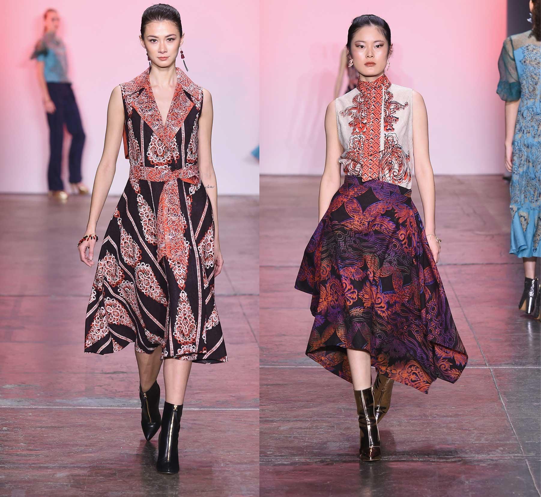 Model baju batik fashionista