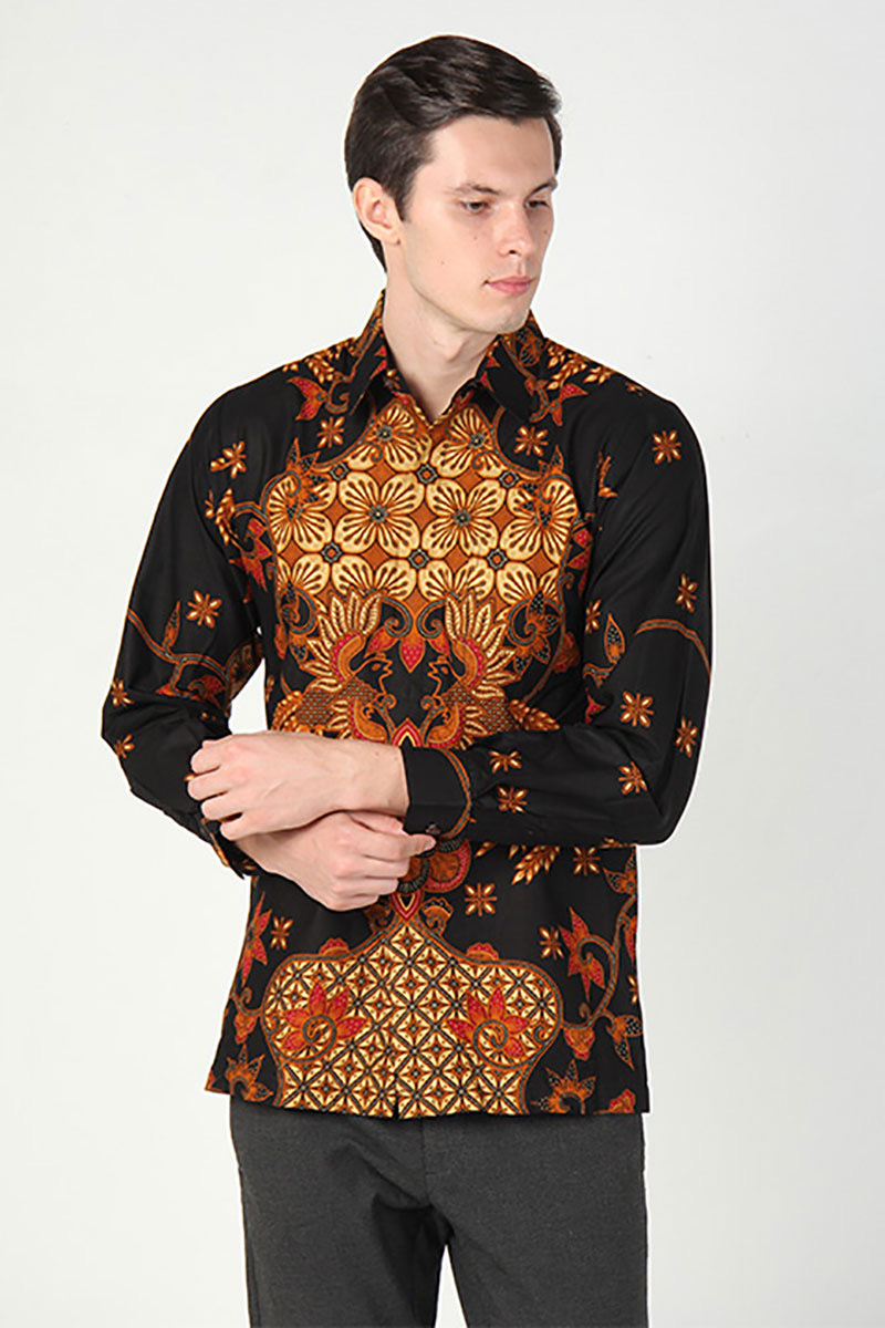 Model baju batik gagah berkarisma