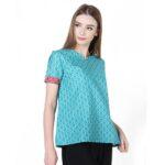 Model baju batik kerja kantor wanita