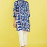 Model baju batik kerja santai