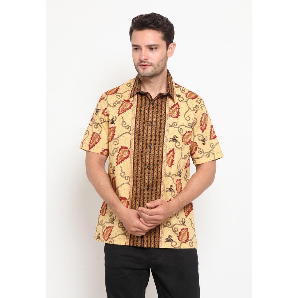 Model baju batik pria basic
