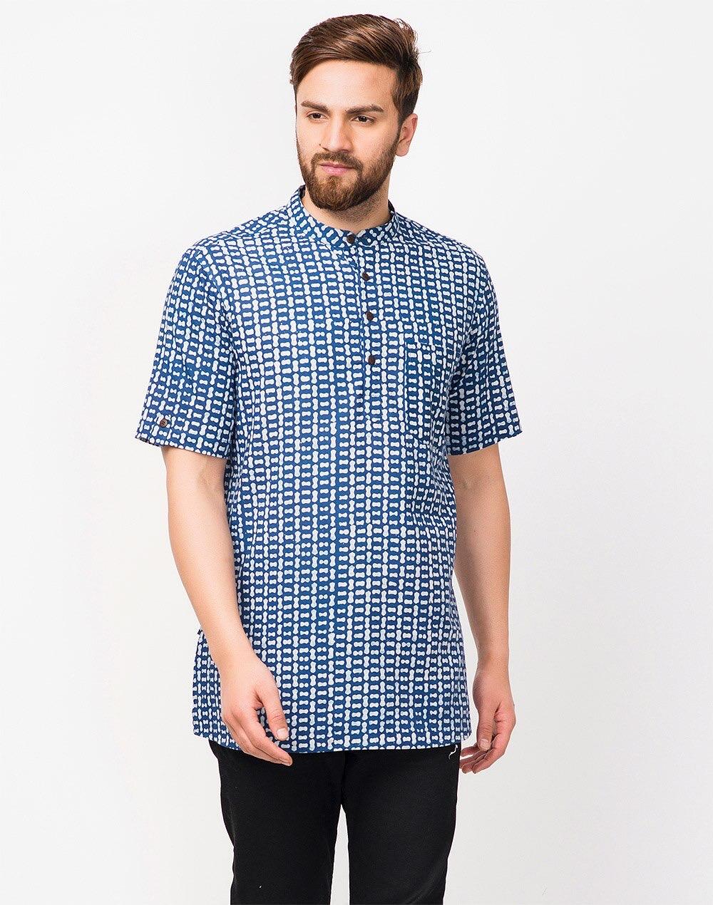 Model baju batik pria unik