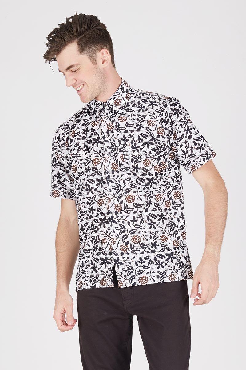 Model baju batik untuk dalaman jas