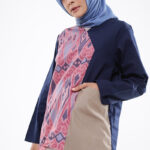 Model baju batik untuk muslim pergi ke kampus