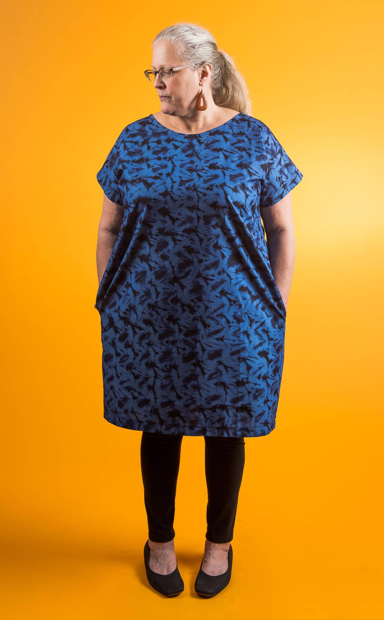 Model baju batik untuk orang gemuk dress santai