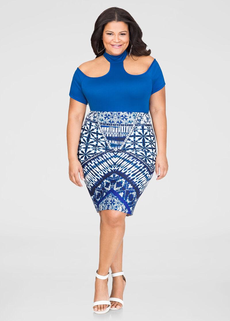Model baju batik untuk wanita gemuk dress cantik