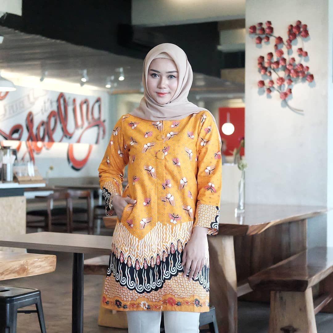 Model baju muslim batik untuk sehari-hari