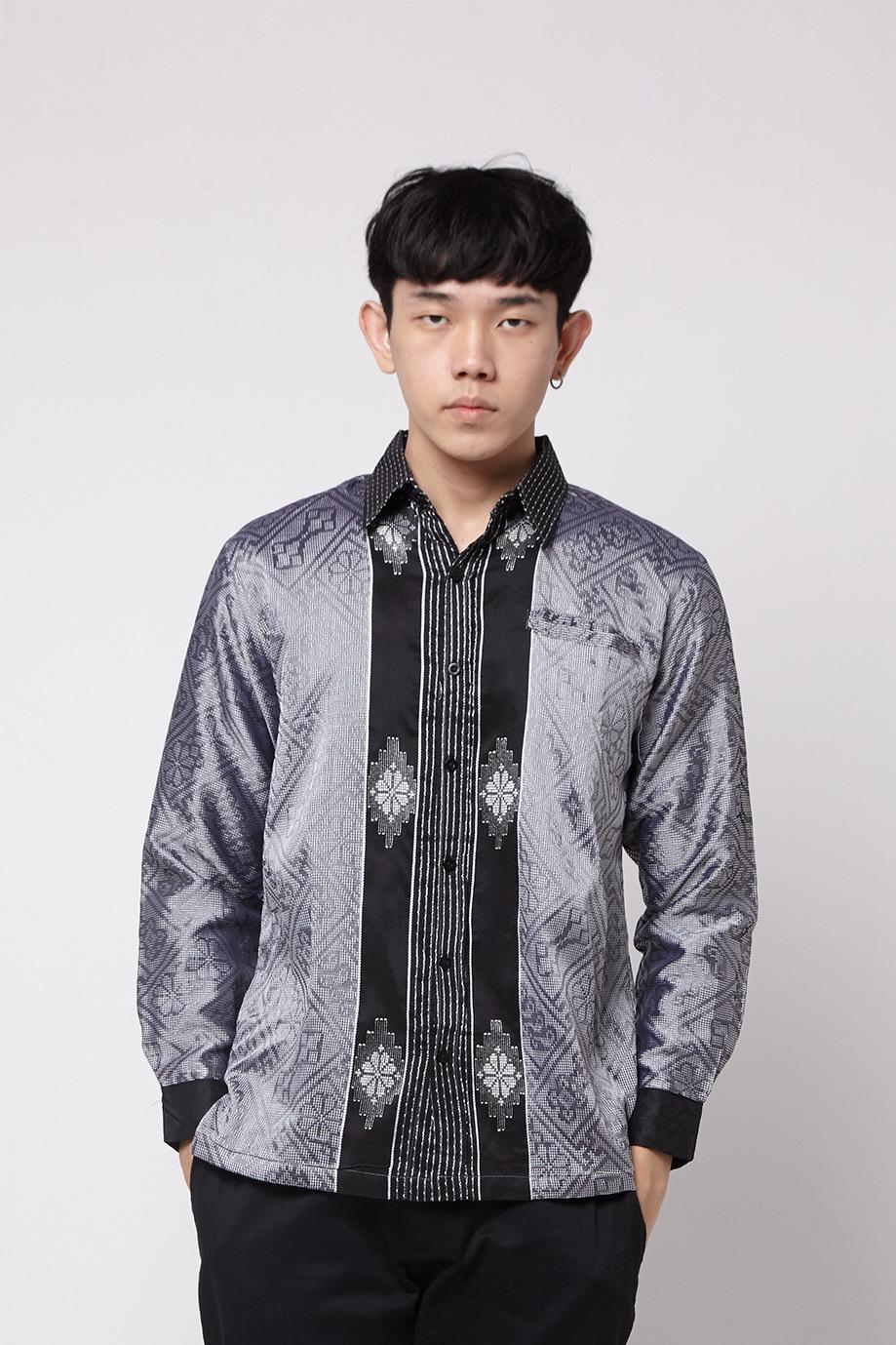 Model baju muslim motif batik