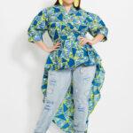 Model batik untuk wanita gemuk bentuk tubuh pir