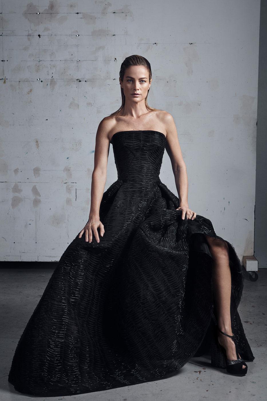 Model kebaya gaun kemben