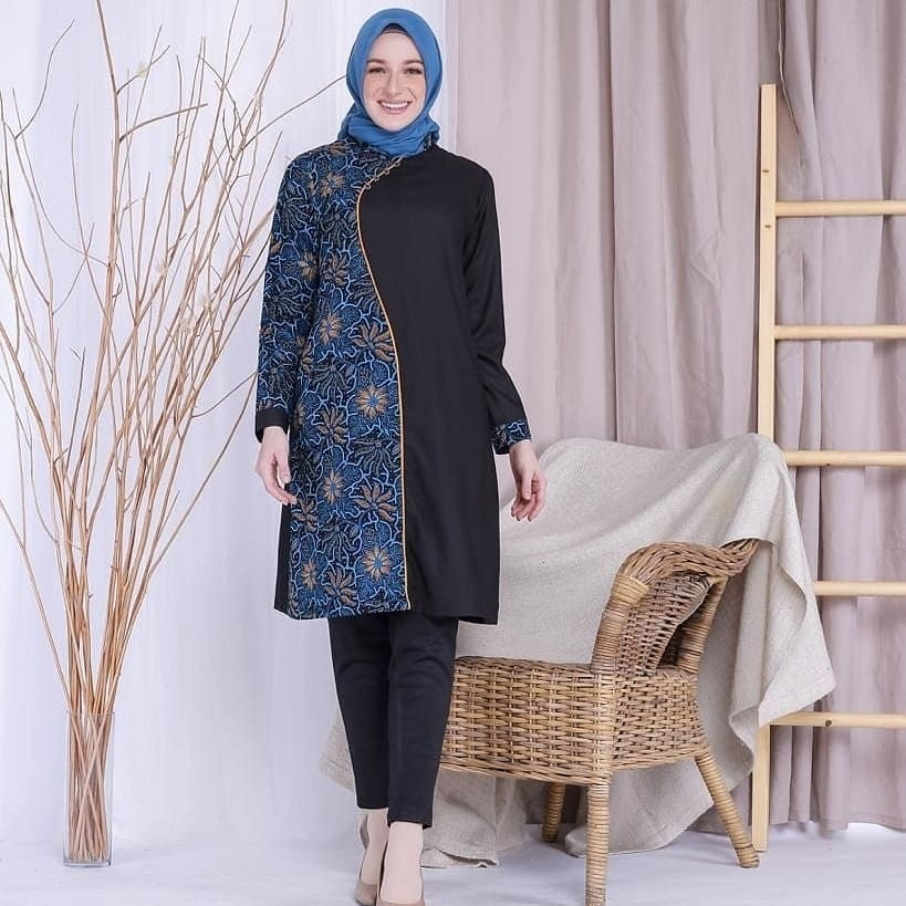Tunik Batik Elegan