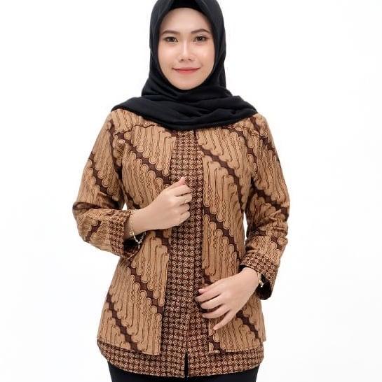 Tunik Batik Kerja