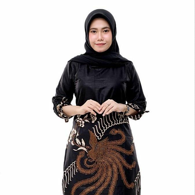 Tunik Batik Motif Keraton