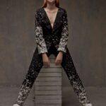 baju batik model jumpsuit