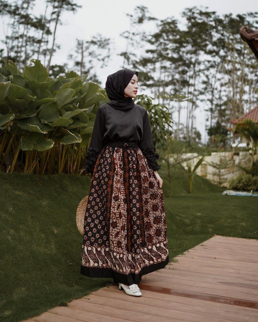 dress batik edgy