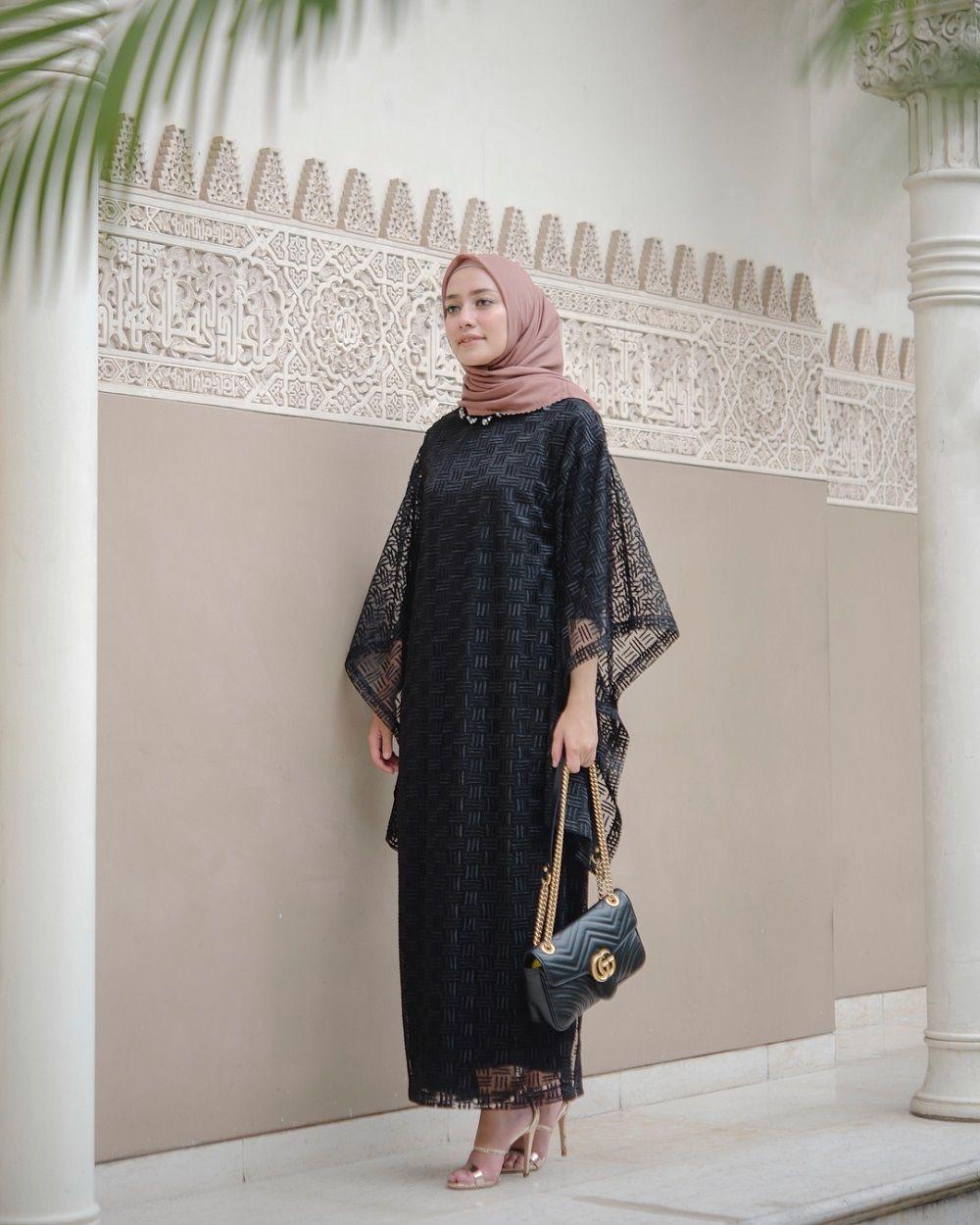 √ 12+ Model Baju Gamis Lebaran Modern Terbaru 12