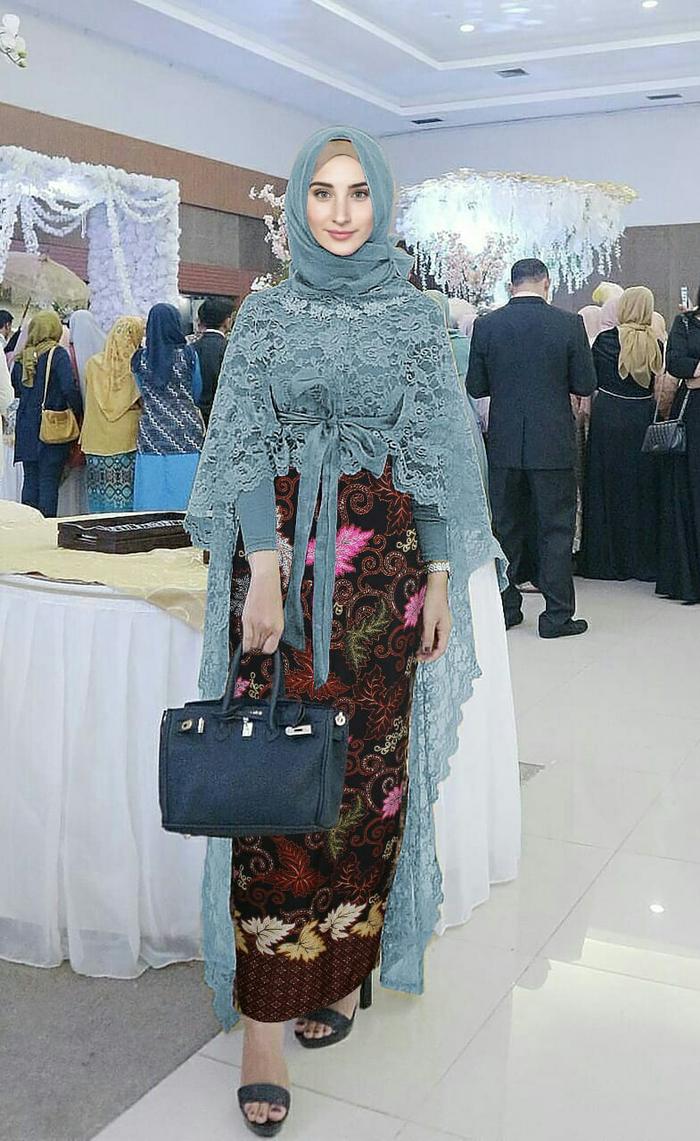 kebaya kartini hijab elegan