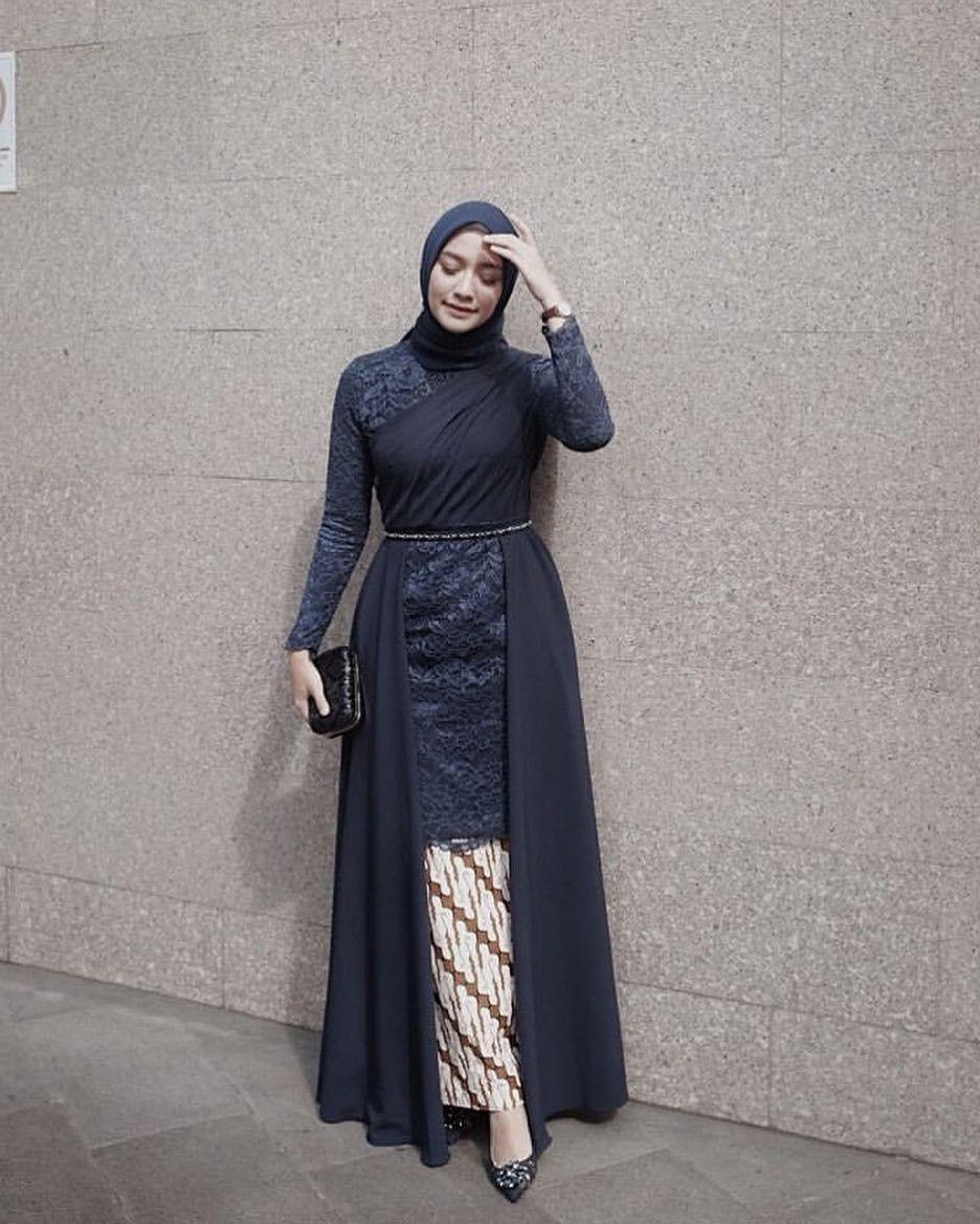 kebaya kartini hijab semi formal