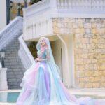 kebaya pengantin muslim unicorn