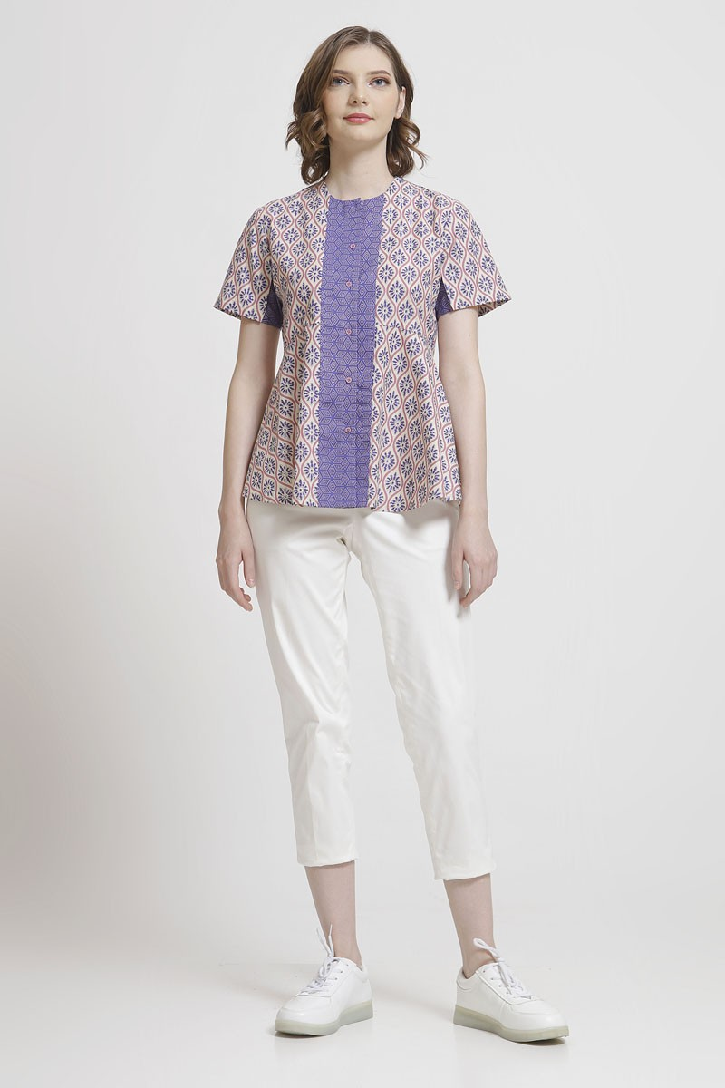model baju atasan batik cantik