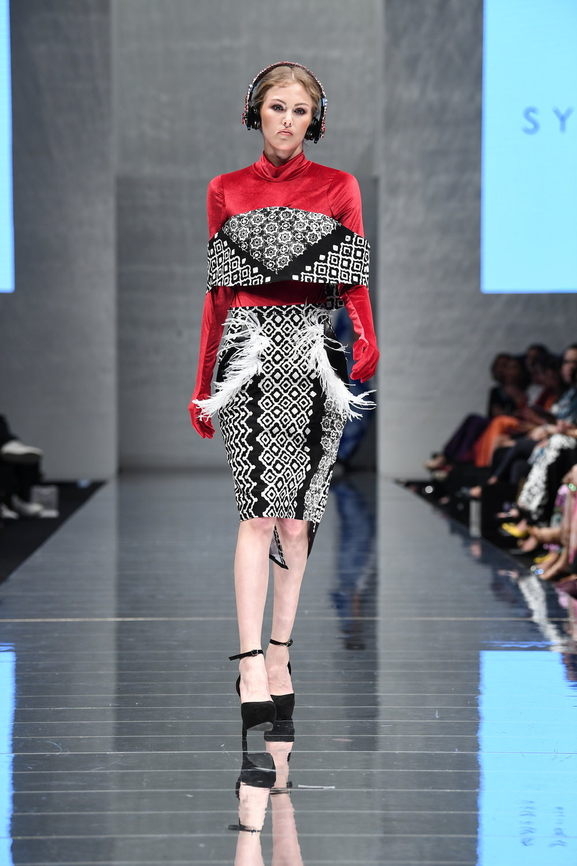 model baju batik atasan kombinasi bulu