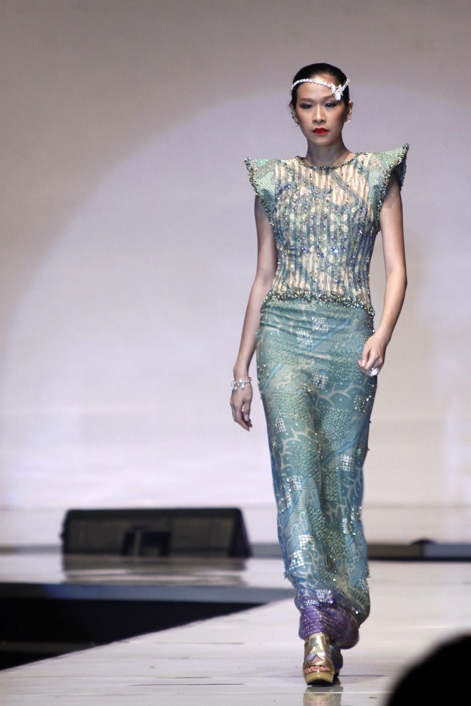 model baju batik rok duyung