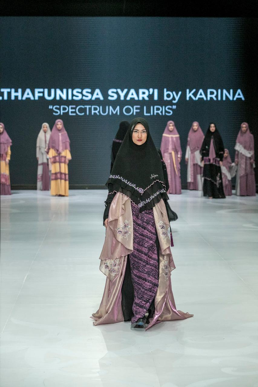 Gamis Batik Syar'i Modern