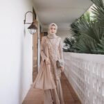 Gamis Model Kebaya Brokat