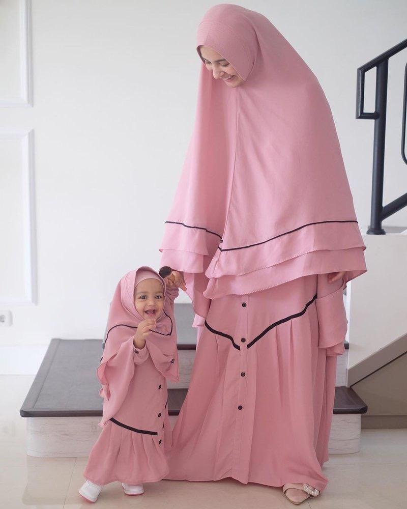 Gamis Pink Balotelli Sederhana