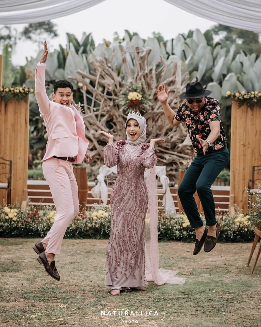 Gamis pengantin