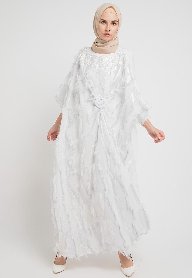 Gamis putih polos