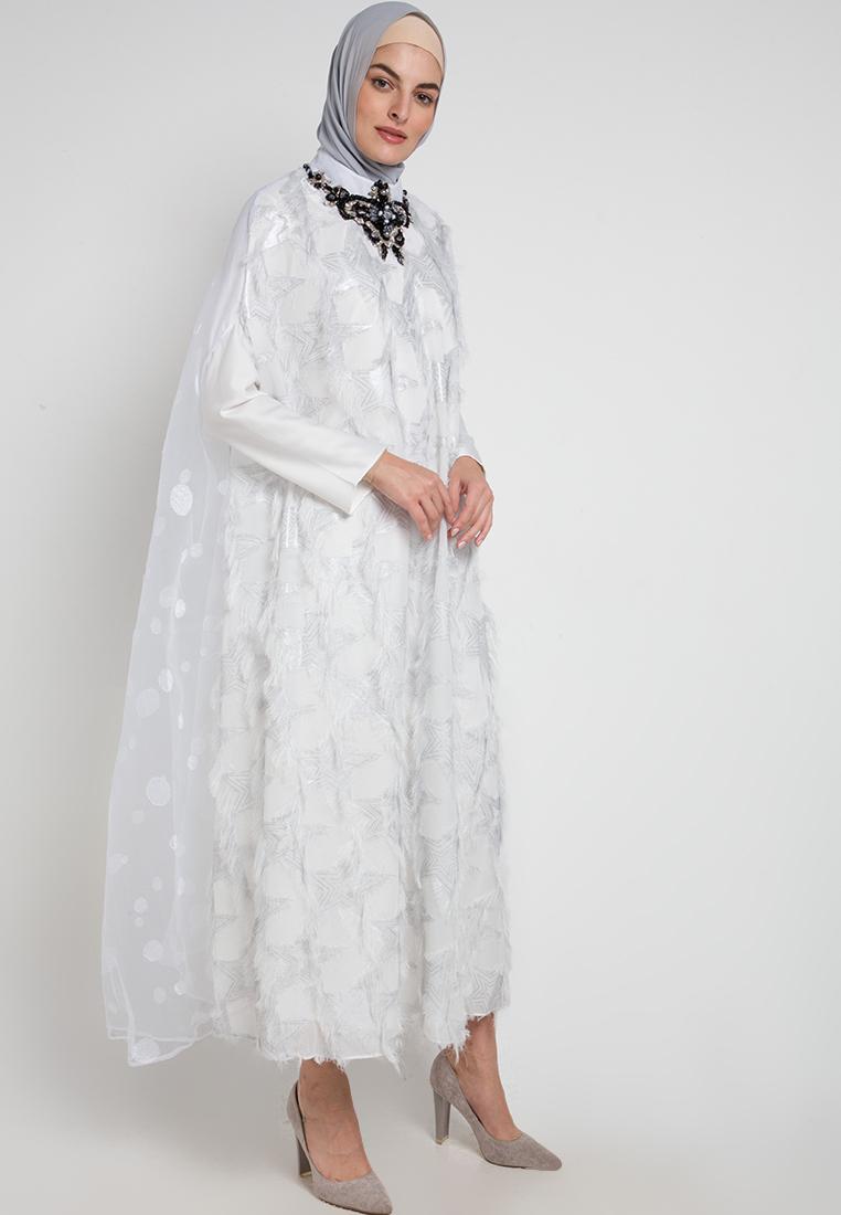 Gamis putih simple