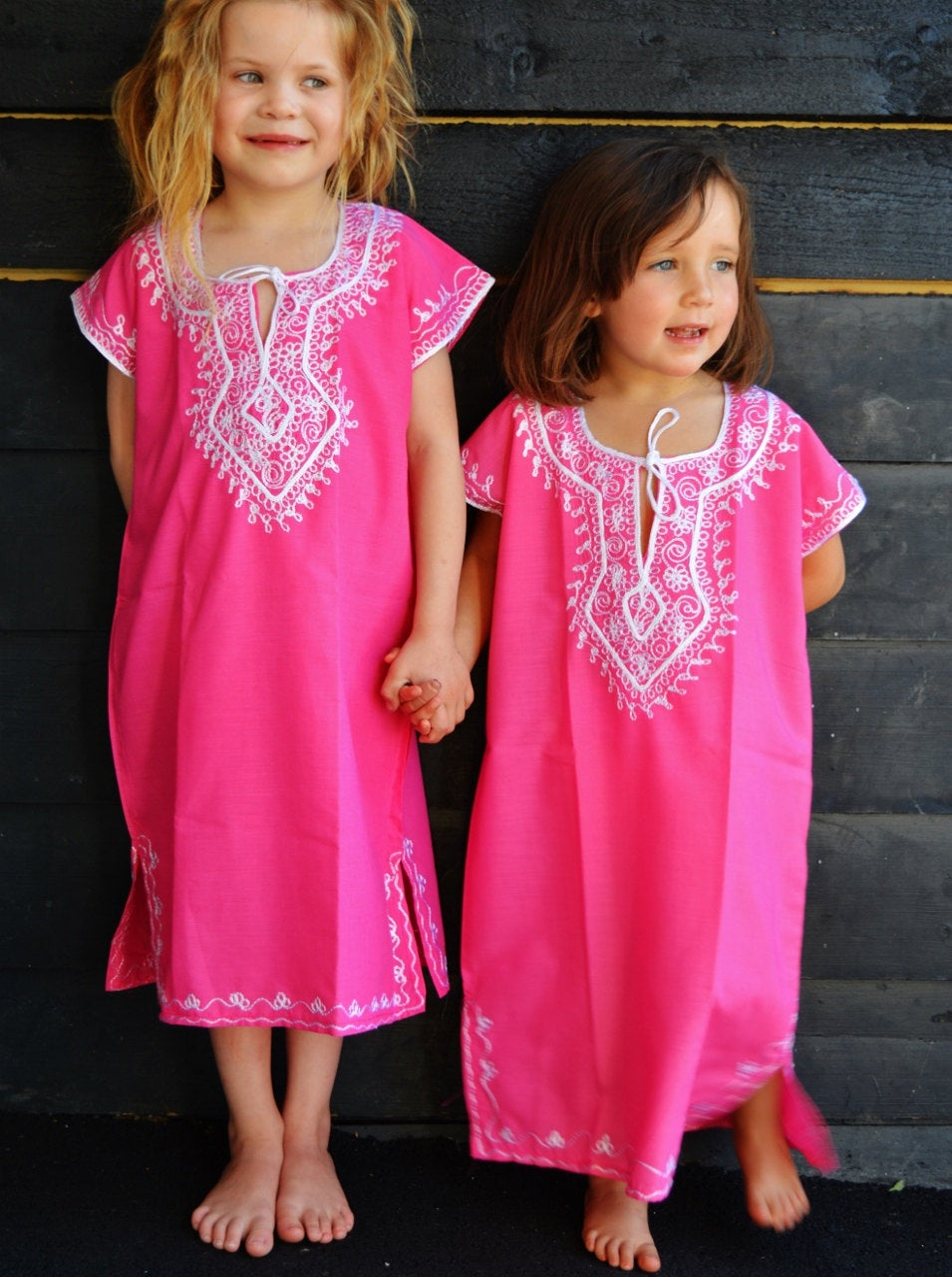 Gamis untuk anak kembar