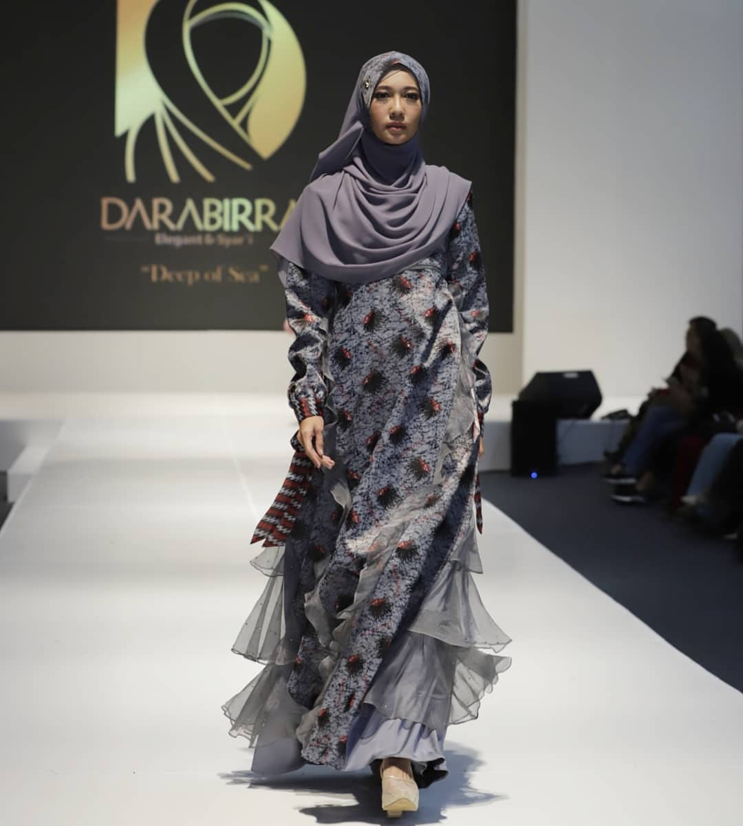 Model Baju Gamis Syar'i Modern Terbaru