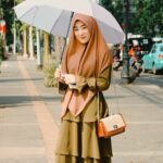 Model Gamis Syar'i Layer