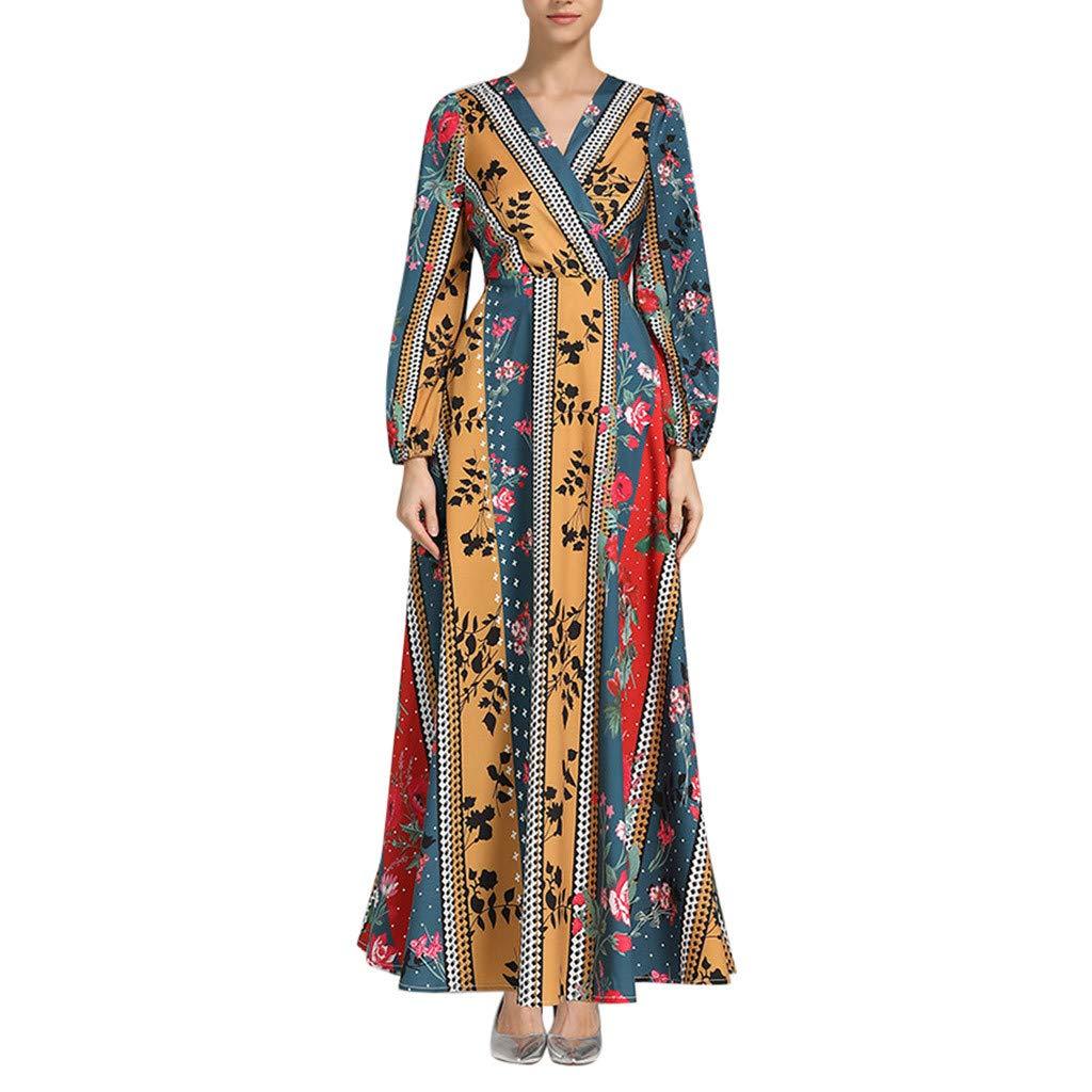 Paduan berbagai motif dan warna gamis dari katun jepang