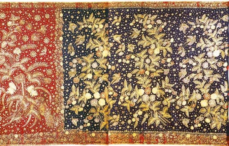 Batik Buketan Kombinasi Khas Bali