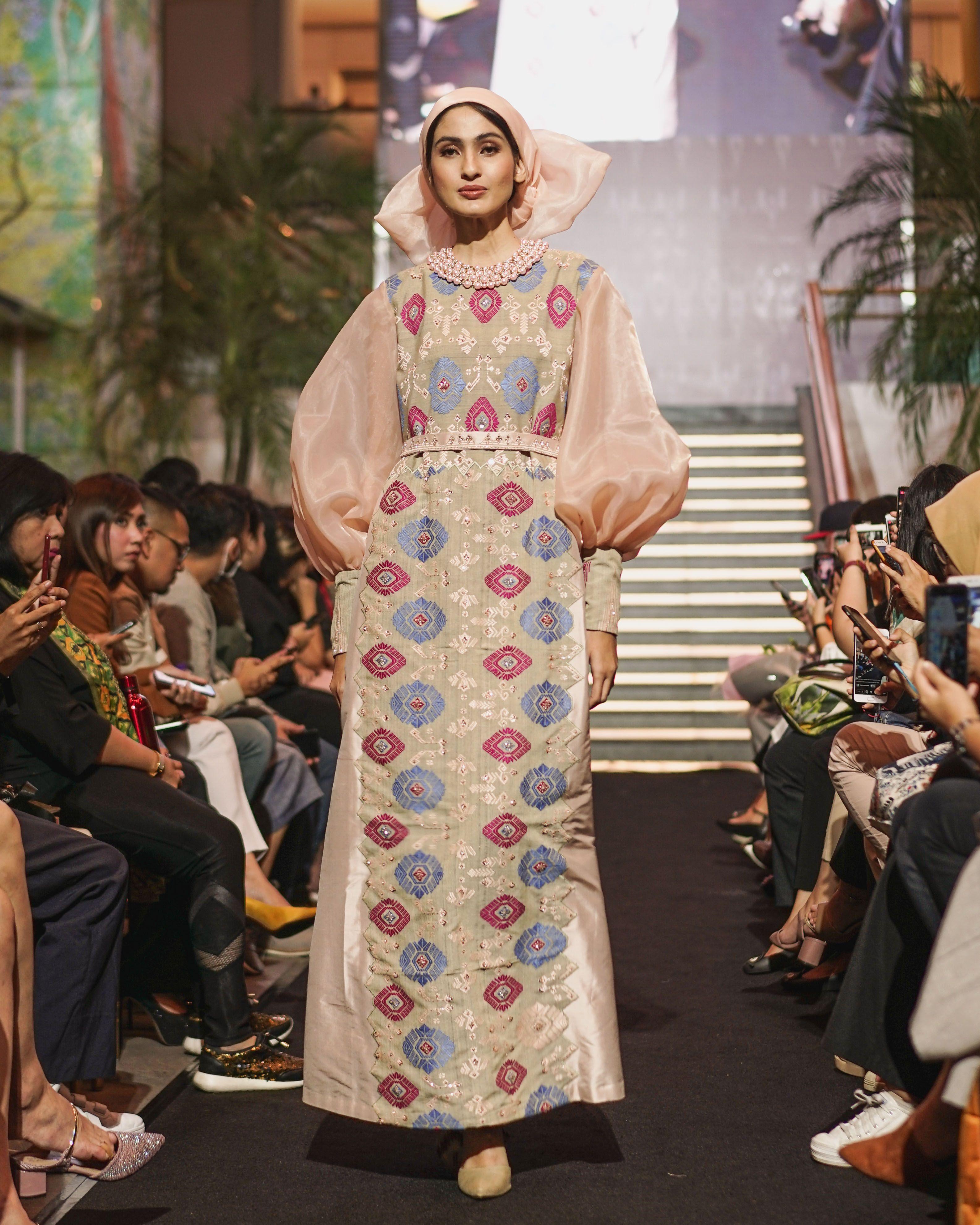 Dress Batik Bali Pastel