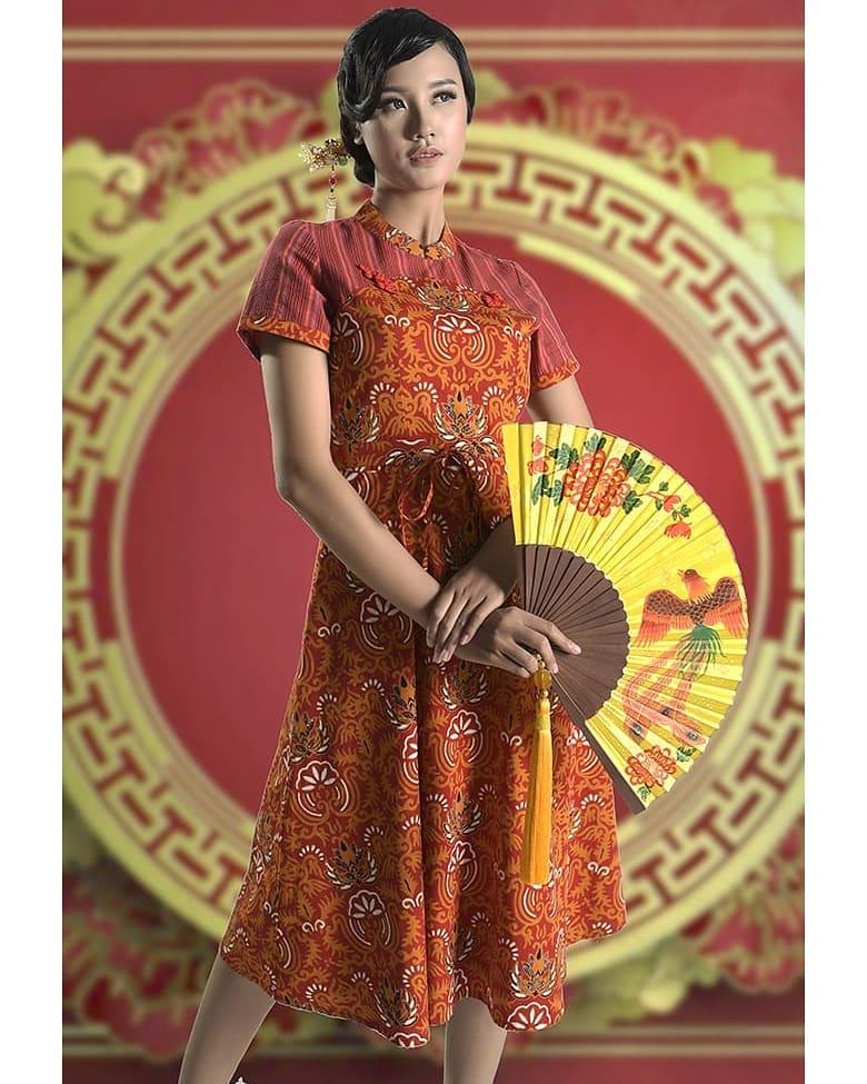 Dress Batik Keris Terbaru