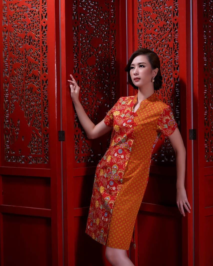 Dress Oranye Chiangi