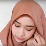 Gambar Tutorial Hijab Paris Simple
