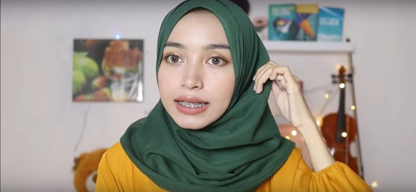 Gambar Tutorial Hijab Paris