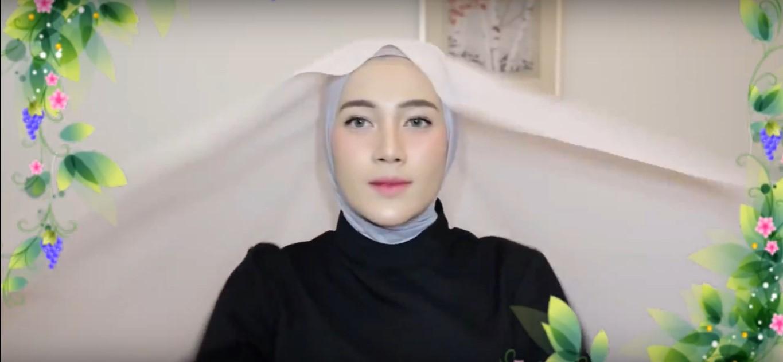 Gambar Tutorial Hijab Wisuda Terbaru