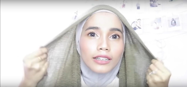 Hijab Pashmina Tutorial Rawis Renda