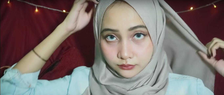 Hijab Pashmina Tutorial Tanpa Ninja