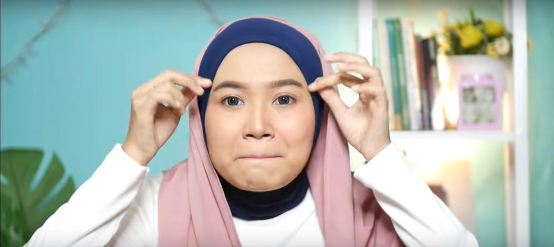 Hijab Pashmina Tutorial Untuk Wajah Bulat
